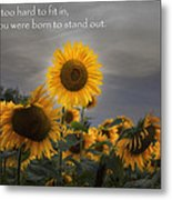 Stand Out Metal Print by Bill Wakeley