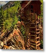 Standing Tall In Crystal Metal Print by Adam Jewell