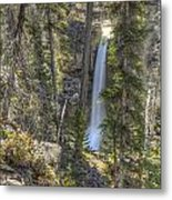 Stanley Falls At Beauty Creek Metal Print by Brian Stamm