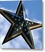 Star Metal Print by Annette Persinger