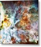 Star Birth In The Carina Nebula  Metal Print by The  Vault - Jennifer Rondinelli Reilly