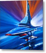 Star Drive Metal Print by James Christopher Hill