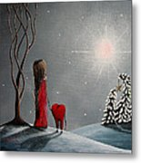 Star Of Hope By Shawna Erback Metal Print by Shawna Erback