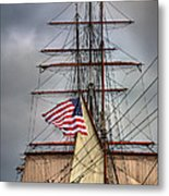 Star Of India Stars And Stripes Metal Print by Peter Tellone