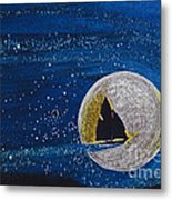 Star Sailing By Jrr Metal Print by First Star Art