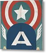 Star-spangled Avenger Metal Print by Michael Myers