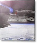 Star Trek - A New Civilization Metal Print by Jason Politte