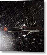 Star Trek - The Original Enterprise  Metal Print by Jason Politte