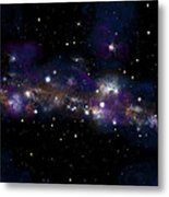 Starfield No.122712 Metal Print by Marc Ward