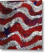 Starry Stripes Metal Print by Carol Jacobs