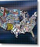 States Metal Print by Robert Smith