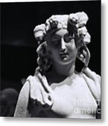 Statue Of Dionysus Metal Print by Catherine Fenner