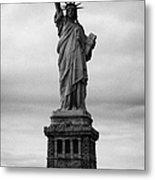 Statue Of Liberty National Monument Liberty Island New York City Usa Nyc Metal Print by Joe Fox