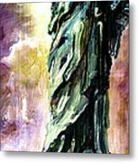 Statue Of Liberty Part 4 Metal Print by Ginette Callaway