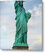 Statue Of Liberty Metal Print by Stephen Stookey