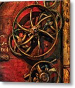 Steampunk - Clockwork Metal Print by Mike Savad