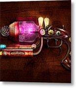 Steampunk - Gun -the Neuralizer Metal Print by Mike Savad