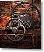 Steampunk - No 10 Metal Print by Mike Savad