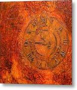 Steampunk Time Metal Print by Bellesouth Studio