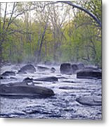 Stepping Stones Metal Print by Bill Cannon