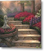 Steps Of Providence Metal Print by Chuck Pinson