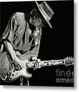 Stevie Ray Vaughan 1984 Metal Print by Chuck Spang