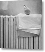 Still Life With Pear Metal Print by Diana Kraleva