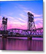 Stillwater Lift Bridge Metal Print by Adam Mateo Fierro