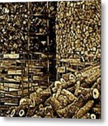 Stockpile  Metal Print by Chris Berry