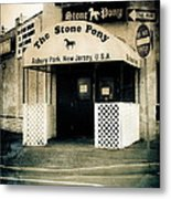 Stone Pony Metal Print by Colleen Kammerer