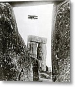 Stonehenge 1914 Metal Print by Science Source