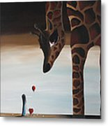 Stop To Love By Shawna Erback Metal Print by Shawna Erback