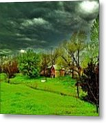 Storm Anticipation Metal Print by PainterArtist FIN