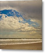 Storm Approaching Metal Print by Karol Livote