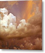 Storm Clouds Metal Print by Andrea Kelley