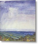 Storm Heaves - Hog Hill Metal Print by Grace Keown