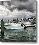 Storm Over Banks Channel Metal Print by Phil Mancuso