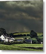 Stormy Hamlet Metal Print by Amanda And Christopher Elwell