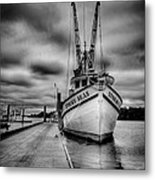 Stormy Seas Metal Print by Matthew Trudeau