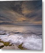 Stormy Sunset Metal Print by Tin Lung Chao