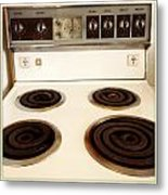 Stove Top Metal Print by Les Cunliffe