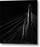 Structure In The Shadows Metal Print by CJ Schmit