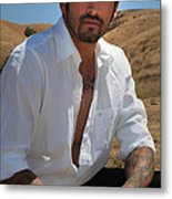Suave Metal Print by Laurie Search