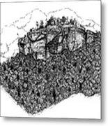 Sugar Loaf Mtn. Heber Springs Ar. Metal Print by Lee Halbrook