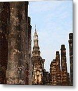 Sukhothai Historical Park - Sukhothai Thailand - 011320 Metal Print by DC Photographer