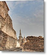 Sukhothai Historical Park - Sukhothai Thailand - 01138 Metal Print by DC Photographer