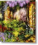 Summer - I Found The Lost Temple  Metal Print by Mike Savad