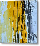 Summer Rein- Abstract Metal Print by Ismeta Gruenwald