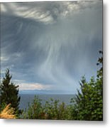 Summer Squall Metal Print by Randy Hall