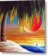 Summer Sunsets By Shawna Erback Metal Print by Shawna Erback